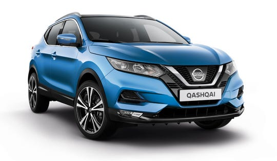 Nissan sells the Qashqai (the Rogue Sport in the U.S.) in Ghana.