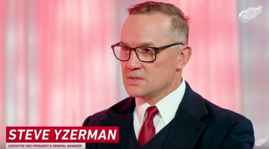 Red Wings GM Steve Yzerman sat down with play-by-play announcer Ken Kal for a midseason review of the team.