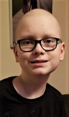 Isaac Advey, 11, of Clyde, has been undergoing cancer treatment since the age of 3.