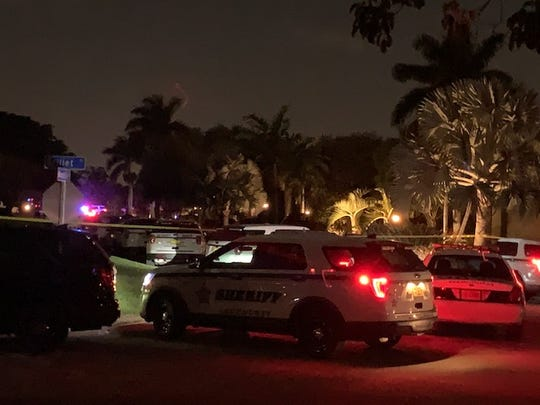 A domestic violence incident involving a firearm spun out of control in a Whiskey Creek neighborhood Thursday, leaving a man, the apparent suspect, dead and the victim unhurt.