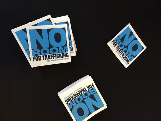 The American Hotel & Lodging Association brought its No Room for Trafficking Campaign to Miami on Thursday, Jan. 9, 2020.
