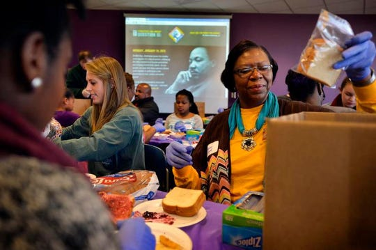 Greenville Tech will once again host a Day of Service on MLK Day.