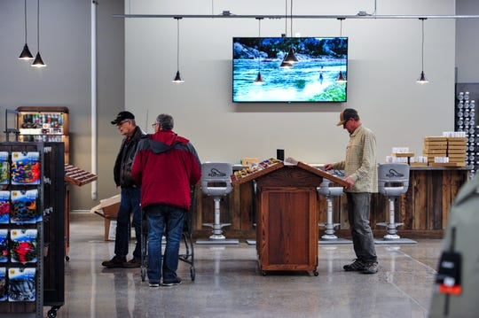 The North 40 Outfitters new west side store, which is now open for business, sports a much larger flyshop than the store on 10th Avenue South.