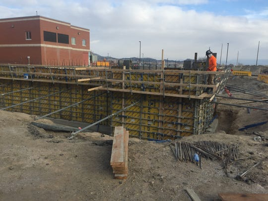 Work is underway at Fort Harrison for an 18,000-square-foot addition to consolidate primary care services.