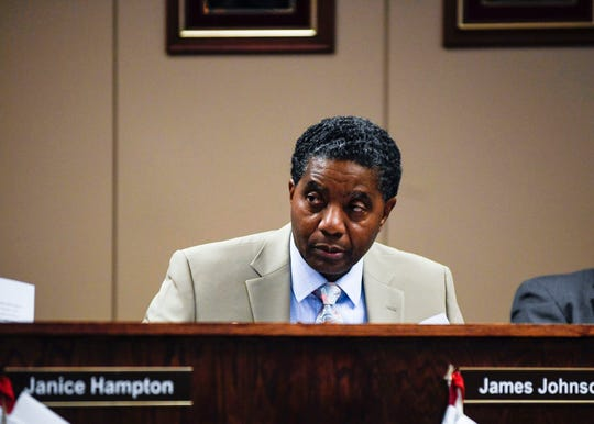 "Jackson-Madison County School System board chairman James ""Pete"" Johnson"