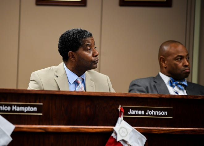 "Jackson-Madison County School Board chairman James ""Pete"" Johnson"