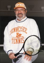 Mike DePalmer Sr., former University of Tennessee Tennis Coach, as seen in 1994.