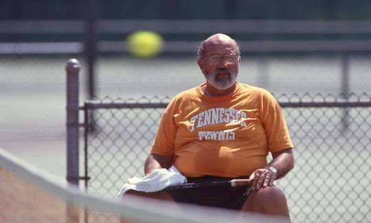 Mike DePalmer Sr., former University of Tennessee Tennis Coach.
