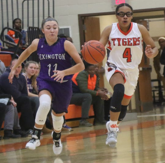 Mansfield Senior's Dakiyah White has the Lady Tygers hopeful they can rebound from a pair of tough losses last week.