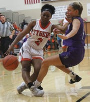 Mansfield Senior's Akira Johnson has the Lady Tygers at No. 9 in the Richland County Girls Basketball Power Poll.
