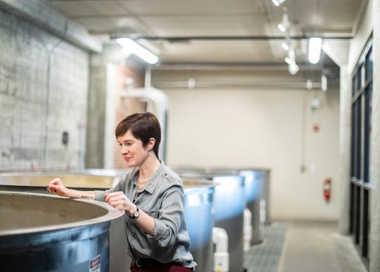 Alex Castle is master distiller and senior vice president at Old Dominick Distillery. She also oversees every aspect of the distillery, including sales, marketing, tours and hospitality.