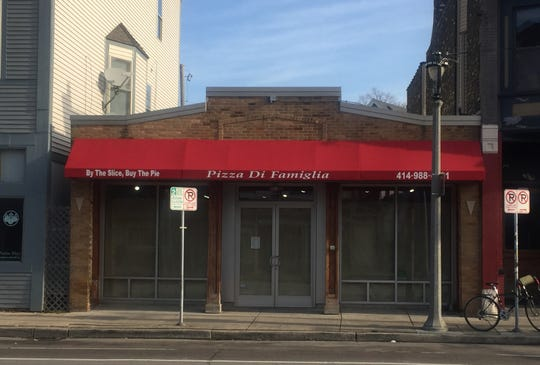 The former Pizza di Famiglia, 2242 S. Kinnickinnic Ave., is being converted into Makk 'n' Cheese, a fast-casual restaurant, and Blind Tiger speakeasy. Blind Tiger would be enclosed and separate from the restaurant, operating Fridays and Saturdays.