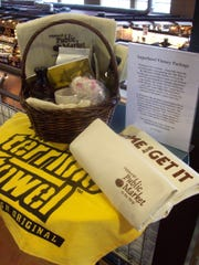The Pittsburgh Public Market sent this gift basket to Milwaukee after Super Bowl XLV.