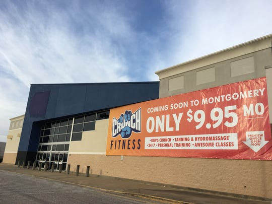 Crunch Fitness is coming to the 1580 East Boulevard building that housed Montgomery's Best Buy until last fall.