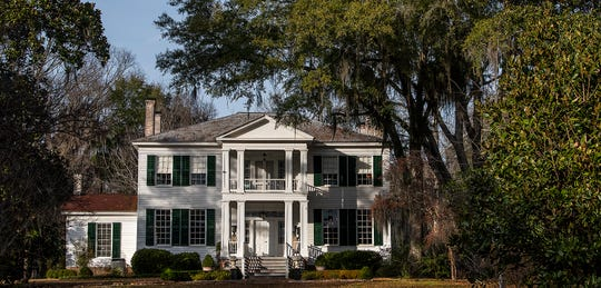 The Elms, an antebellum plantation house in Coosada, Ala., that is used as a wedding and event venue, is seen on Thursday January 9, 2020.