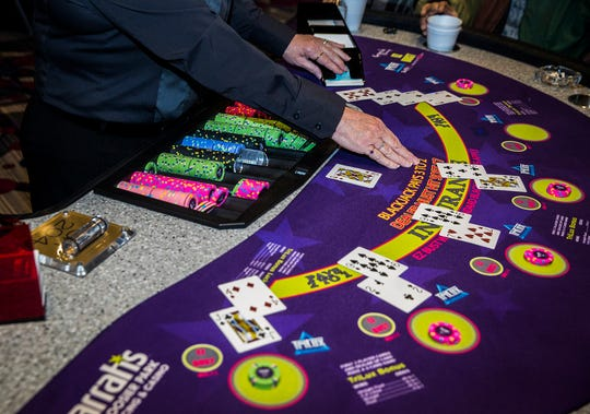 Harrah's Hoosier Park and Casino in Anderson recently added live table games after state restrictions were relaxed.