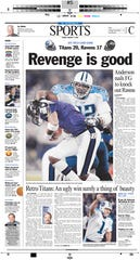 Jan. 4, 2004, edition of The Tennessean