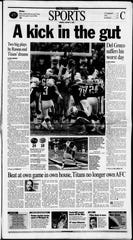 Jan. 8, 2001, edition of The Tennessean