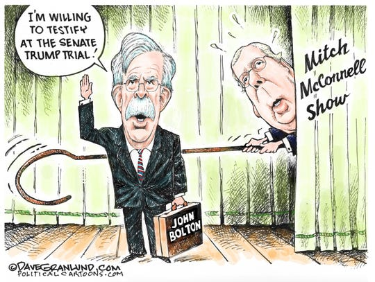 McConnell gives Bolton the hook.