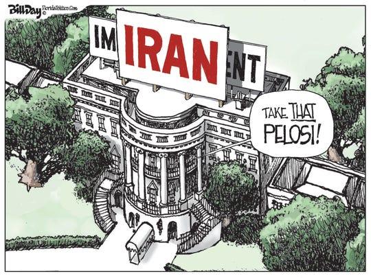 Iran crisis obscures impeachment.