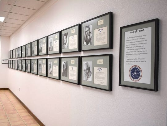 The White Sands Missile Range Hall of Fame is located inside the WSMR Museum on the installation.