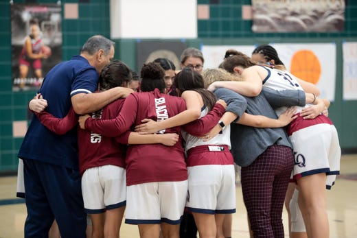 Rattlers edge Knights in Desert Empire League girls' basketball showdown