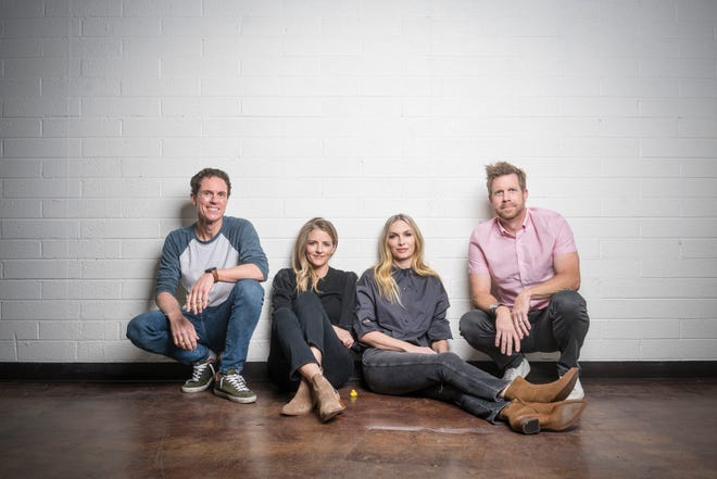 From left to right, Craig DeMarco, Kris DeMarco, Elissa Seitz and Eric Seitz plan to bring Air Guitar, an upscale corner store, to Gilbert in 2020.