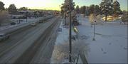 Snow in Flagstaff on Milton Road on Jan. 10, 2020.