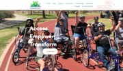 A screenshot from the Daring Adventures website. A thief broke into thecharity'sstorage container and stole bikes designed for people with disabilities last weekend, according to Phoenix police.