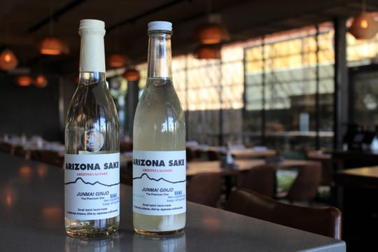 Arizona Sake, made in Holbrook, Ariz. can be found at many bottle shops and restaurants around Phoenix. Still and sparkling versions of the sake are sold at Clever Koi on Central Avenue.