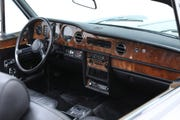 Actor and singer Dean Martin's 1980 Rolls-Royce Corniche two-door convertible will cross the auction block on Sunday, Jan. 19. The car is powered by a 6.75-liter V8 engine with a 3-speed automatic transmission.