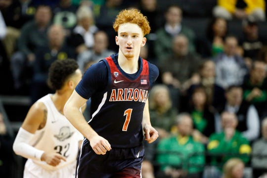 Some NBA mock drafts aren't sure how Nico Mannion's game will translate to the NBA.