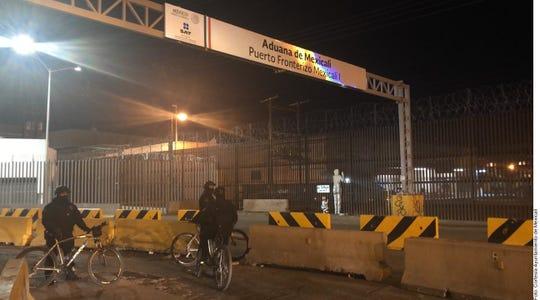 """En un comunicado, el Ayuntamiento de Mexicali indicó que circuló en redes sociales una alerta sobre """"la llegada de personas provenientes de Irán""""."""