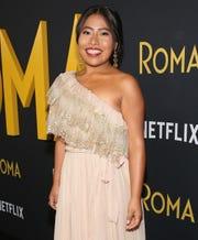 """Desde que se dio a conocer su nominación al Oscar, por la cinta """"Roma"""", la actriz no ha dejado de trabajar."""