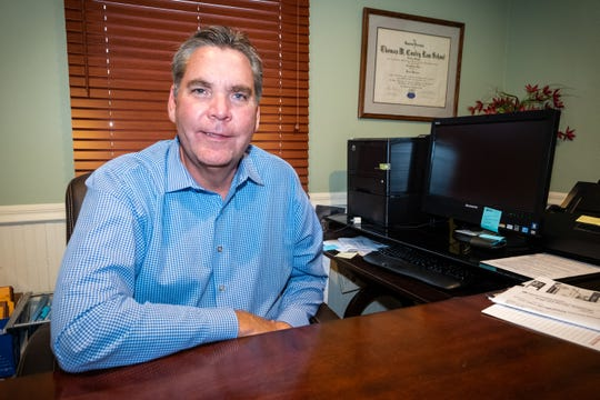 Simasko Law opened a new office in Kimball Township on Jan. 1, 2020. The firm is owned by Patrick Simasko, photographed Friday, Jan. 10, 2020, and already has an office in Mount Clemens.