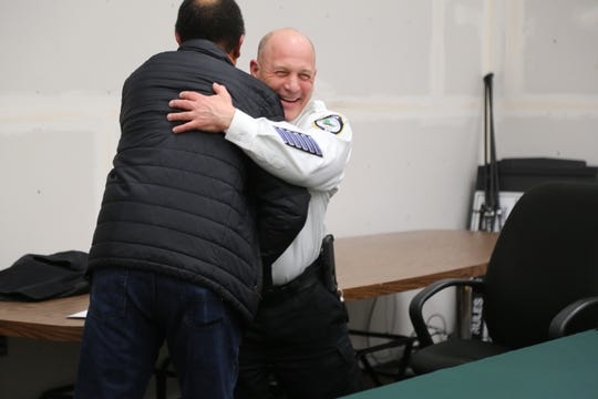 Lt. Christopher Bellino was appointed at acting police chief of East Fishkill Police Department at a town board meeting on Thursday evening