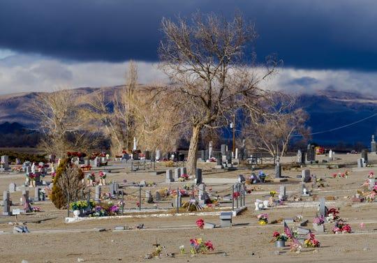 Valley View Cemetery in Yerington.