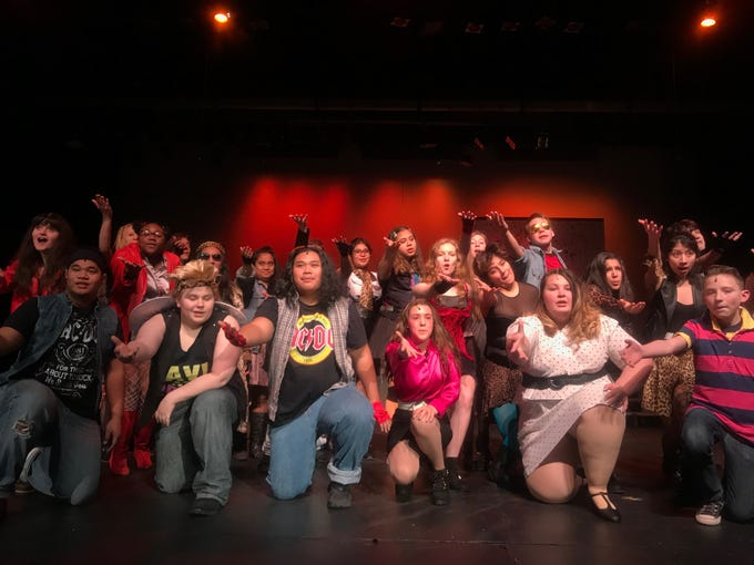 Rock of Ages — High School Edition is a story with a girl from a small-town world, a city boy and a romance on the Sunset strip featuring famous 80s songs, 7 p.m. Jan. 17-18, 24-25; 2 p.m. Jan. 25, Mckay High School. $7 GA, $5 McKay students. mckayhs.ticketleap.com.