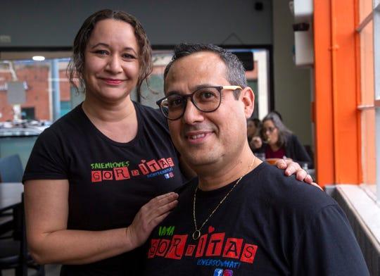 Eva and Armando Ornelas at their new restaurant, Las Gorditas Ricas, in Salem on Jan. 9, 2020.