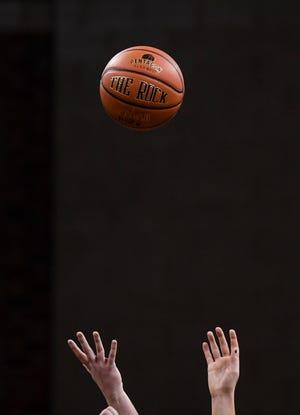 O'Gorman plays Roosevelt during a girl's basketball game on Thursday, Jan. 9, 2020 at the Sanford Pentagon.