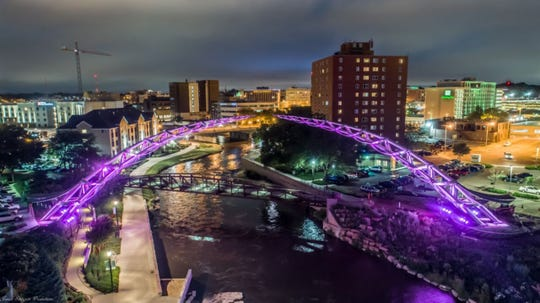 Dell Rapids resident and cancer survivor Derek Gerlach will be honored as he gives the command to light the Arc of Dreams in downtown Sioux Falls on Saturday, March 28 at 7:30 p.m.