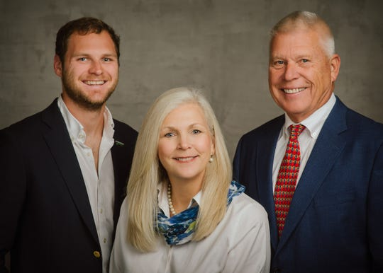 The Sarcoxie Nurseries ownership team includes Jonathon Callicoat and his parents, Wendy Callicoat and Paul Callicoat.