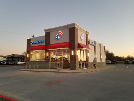 "A new Domino's concept, the ""pizza theater"" is now open in west Springfield."