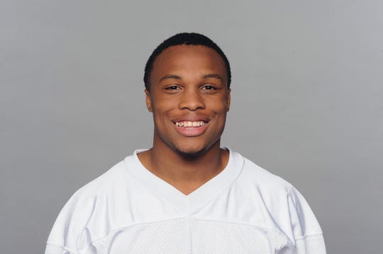 2009 photo of Brennan Marion of the Miami Dolphins.
