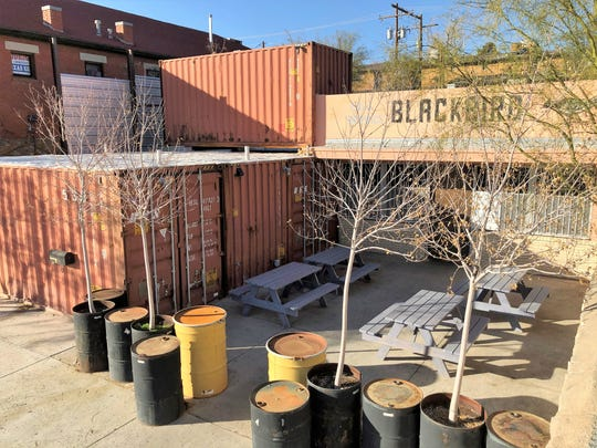 The Blackbird Cantina at 533 W. Franklin, near the Downtown baseball stadium, recently was sold to two El Paso entrepreneurs.