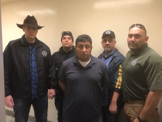 U.S. Marshals, Imperial County sheriff's deputies and Mexican authorities found and arrested Adel Hussein, 44, in Mexicali, Mexico on Thursday, January 9, 2020.