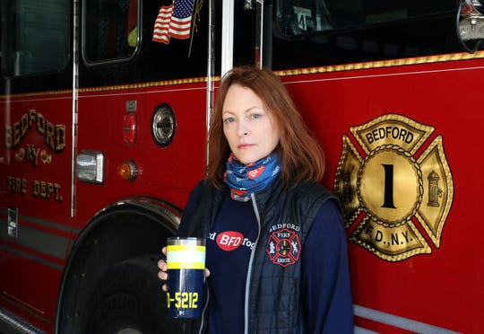 Bedford Fire District Chairwoman Heather Feldman Jan. 9, 2020 in at the firehouse.