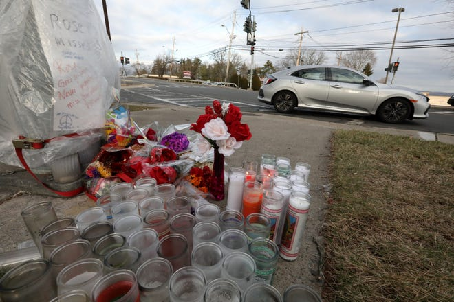 The intersection of Route 9W and Filors Lane in Stony Point on Jan. 10, 2020. Maria Osai died crossing the road there on Dec. 24, 2019.