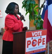 Annetta Pope announced Thursday she is running for Justice of the Peace, Wichita County Precinct 1 Place 1.