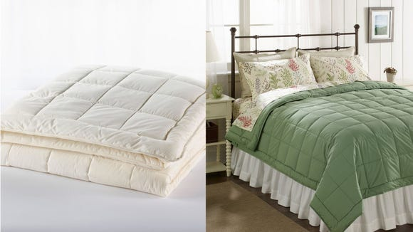Cozy up with a new comforter at a great price.